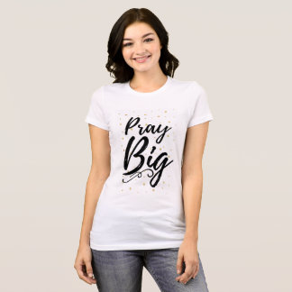 Camiseta Pray grande - t-shirt Fé-Baseado inspirado!