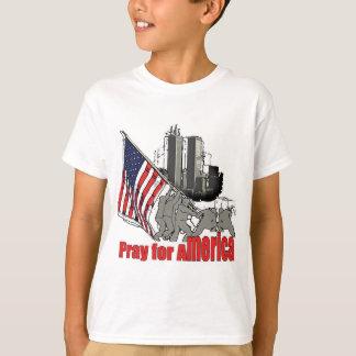 Camiseta Pray para América