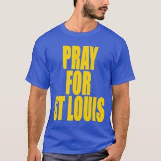 Camiseta Pray para o t-shirt de St Louis