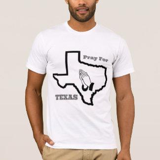 Camiseta Pray para Texas