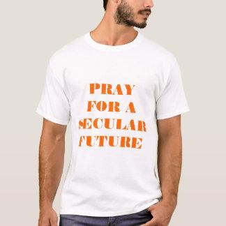 Camiseta Pray por um futuro temporal
