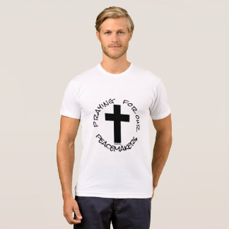 Camiseta Praying para nossos pacificadores 72marketing