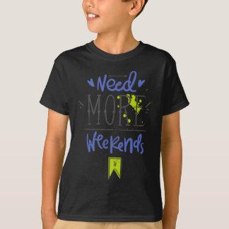 Camiseta Precise mais fins de semana