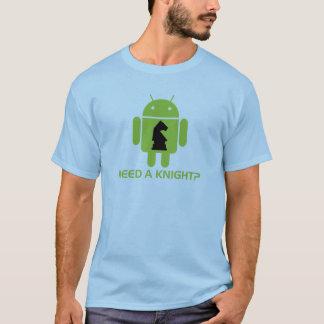 Camiseta Precise um cavaleiro? (Humor do programador de
