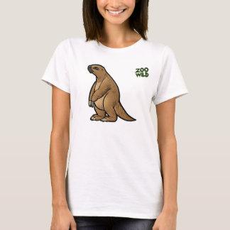 Camiseta Preguiça à terra gigante
