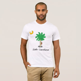 Camiseta Preguiça Carolina