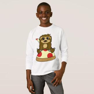 Camiseta Preguiça da pizza