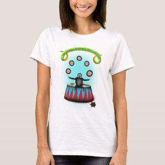 Camiseta preguiça de mnanipulação do ouriço surpreendente