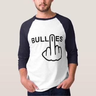 Camiseta Preocupação das intimidações do t-shirt