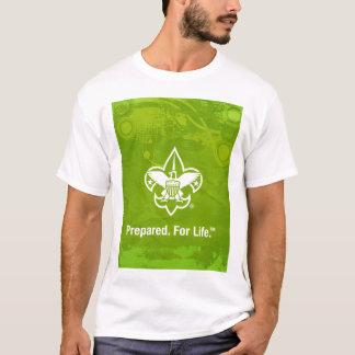 Camiseta Preparado. Para o t-shirt da vida