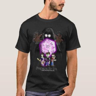Camiseta Prepare para morrer - as mãos da escuridão
