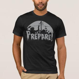 Camiseta Prepare para zombis