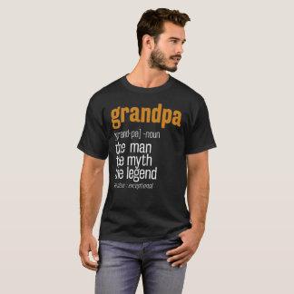 Camiseta Presente ao avô do vovô