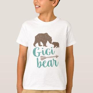 Camiseta Presente bonito da avó do urso de Gigi grande