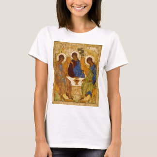 Camiseta Presente católico bizantino de Rublev do ícone da