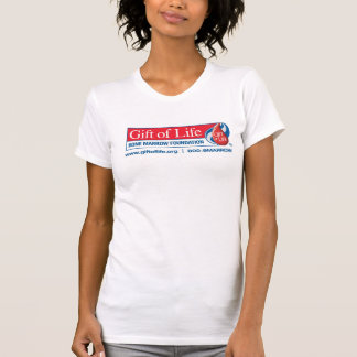 Camiseta Presente da camisola de alças das senhoras da vida