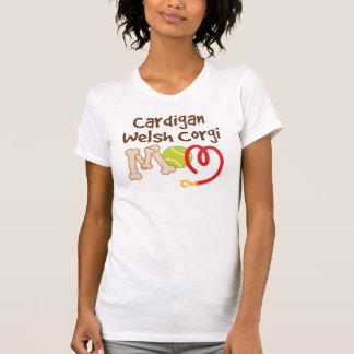Camiseta Presente da mamã da raça do cão do Corgi de Galês