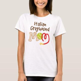 Camiseta Presente da mamã da raça do cão do galgo italiano