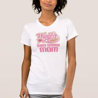 Camiseta Presente da raça do cão da mamã do Coonhound de