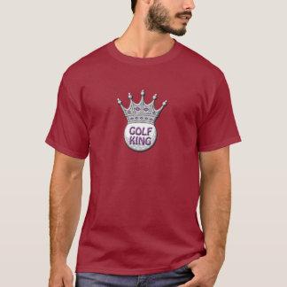 Camiseta Presente de Dadism do rei dia dos pais do golfe