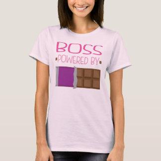 Camiseta Presente do chocolate do chefe para a mulher