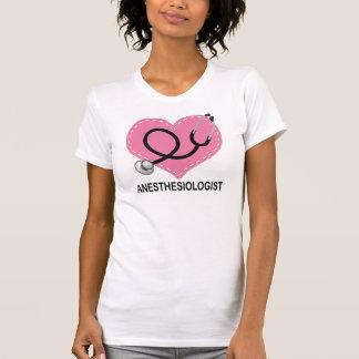 Camiseta Presente do coração do Anesthesiologist