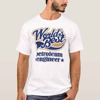 Camiseta Presente do engenheiro do petróleo
