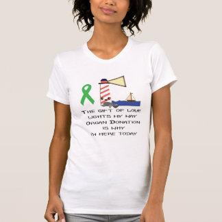 Camiseta Presente do farol do amor