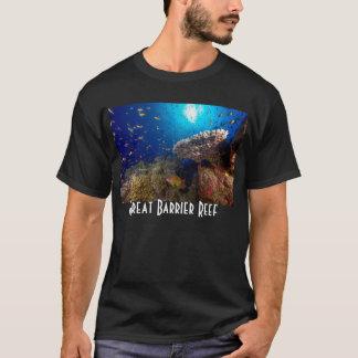 Camiseta Presente do mar coral do recife de coral dos