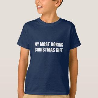 Camiseta Presente do Natal. Provérbio engraçado,