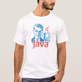Camiseta Presente do programador de Java