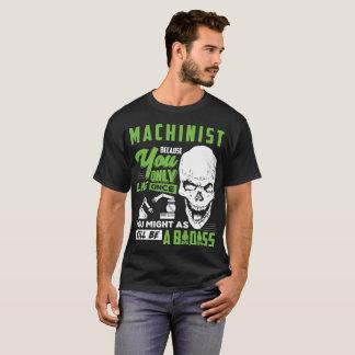 Camiseta Presente do T de Badass do poço do operador do