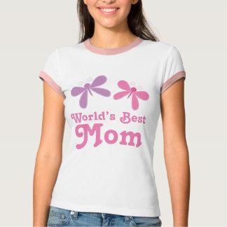 Camiseta Presente do Tshirt do design das borboletas da