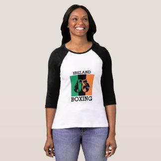 Camiseta Presente dos fãs de encaixotamento para encaixotar
