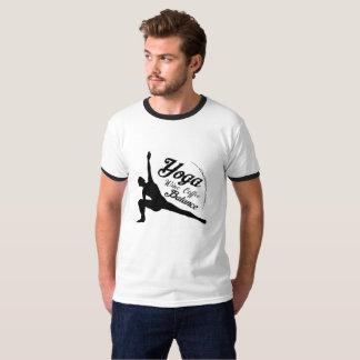 Camiseta Presente engraçado do equilíbrio do café do vinho