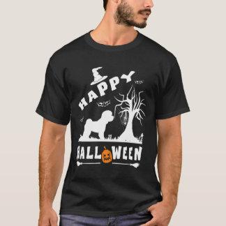 Camiseta Presente feliz dos amantes do cão de FRISE o Dia