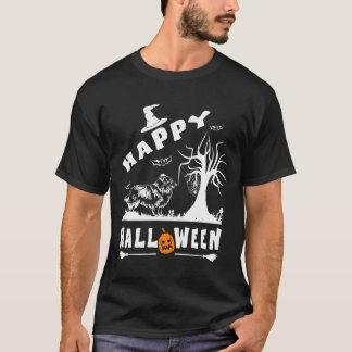 Camiseta Presente feliz dos amantes do cão de SHELTIE o Dia