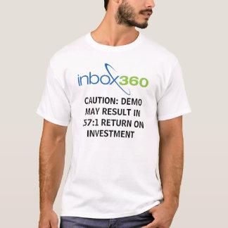 Camiseta Presente InBox360 para o proprietário