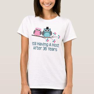 Camiseta Presente para a 36th buzina do aniversário de
