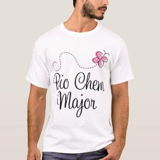 Camiseta Presente principal do T de Chem da borboleta