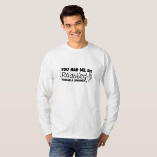 Camiseta Presente Roasted do cozinheiro chefe do