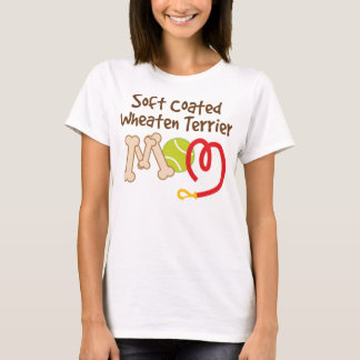 Camiseta Presente Wheaten brandamente revestido da mamã da