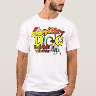 Camiseta Presentes alemães da agilidade do ponteiro de