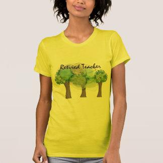 Camiseta Presentes artísticas aposentados do design das