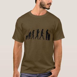 Camiseta Presentes da evolução da química do farmacêutico