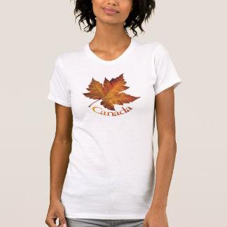 Camiseta Presentes de Canadá da camisola de alças das