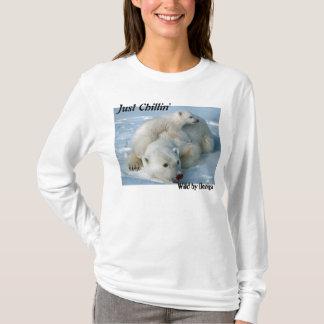 Camiseta Presentes de Chillin do urso polar apenas