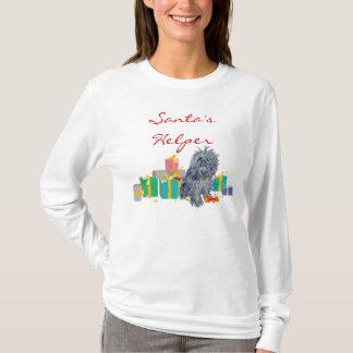 Camiseta Presentes do Natal de Bruxelas Griffon