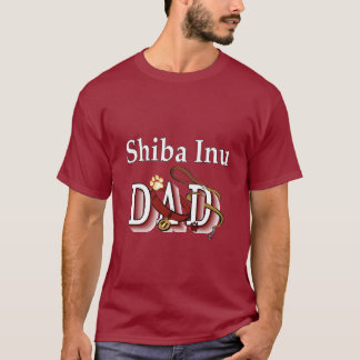 Camiseta Presentes do pai de Shiba Inu