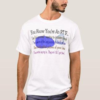 Camiseta Presentes do terapeuta respiratório